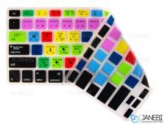 برچسب کیبورد مک بوک Keyboard Sticker Shortcut MacBook 13.3