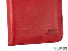 کیف چرمی چند منظوره و گوشی موبایل تا سایز 5.5 اینچ JDK Universal Wallet Leather Mobile Cover