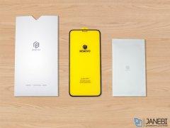 محافظ صفحه نمایش شیشه ای تمام چسب آیفون Benovo HD Glass Apple iphone XR