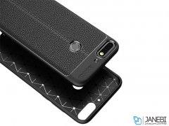 قاب ژله ای طرح چرم هواوی Auto Focus Jelly Case Huawei Honor 7C