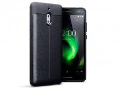 قاب ژله ای طرح چرم نوکیا Auto Focus Jelly Case Nokia 2.1