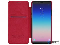 کیف چرمی نیلکین سامسونگ Nillkin Qin Leather Case Samsung A8 Star/ A9 Star