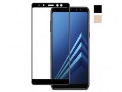 محافظ صفحه نمایش شیشه ای سامسونگ Glass full Cover A8 2018