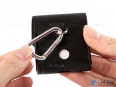 کاور چرمی شارژر ایرپاد Coteetci Magnetic PU Case With Hook AirPods