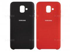 قاب محافظ سیلیکونی سامسونگ Silicone Cover Samsung Galaxy A6 2018