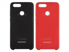 قاب محافظ سیلیکونی هواوی Silicone Cover Huawei P smart/ Enjoy 7S