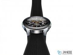 بند سیلیکونی ساعت هوشمند سامسونگ Samsung Gear S4 46mm Silicon Band