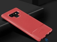 محافظ ژله ای طرح چرم سامسونگ Becation Auto Focus Case Samsung Galaxy Note 9