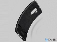 قاب ژله ای طرح چرم سامسونگ Becation Ruged Armor Case Samsung Galaxy J8 2018