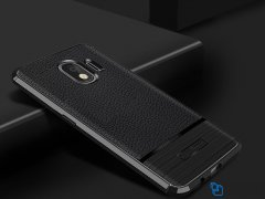 قاب ژله ای طرح چرم سامسونگ Becation Ruged Armor Case Samsung Galaxy J4 2018
