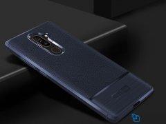 قاب ژله ای طرح چرم نوکیا Becation Ruged Armor Case Nokia 7 Plus