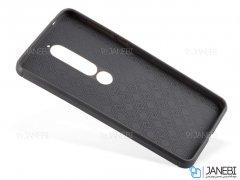 قاب ژله ای طرح چرم نوکیا Becation Ruged Armor Case Nokia 6.1