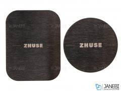 پاور بانک و کیف چرمی Zhuse ZS-PB-011 4000mAh Power Bank And Leather Bag