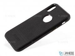 قاب ژله ای طرح چرم آیفون Becation Ruged Armor Case iPhone XR