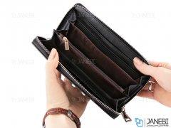کیف چرمی چند منظوره و گوشی موبایل LV Louis Vuitton Mobile Bag