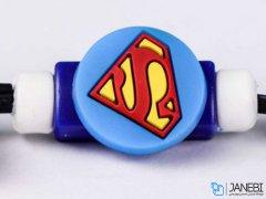 محافظ کابل شارژ آیفون سوپرمن Charger Protector Super Man