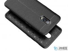 قاب ژله ای طرح چرم وان پلاس Auto Focus Jelly Case OnePlus 6T