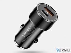 شارژر فندکی دو پورت سریع بیسوس Baseus Small Screw Type-C PD+ USB Quick Car Charger