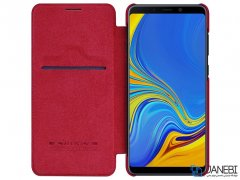 کاور چرمی نیلکین سامسونگ Nillkin Qin Leather Case Samsung A9 2018