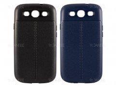 قاب ژله ای طرح چرم سامسونگ Auto Focus Jelly Case Samsung Galaxy S3