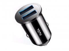 شارژر فندکی دو پورت سریع توتو Totu Dual USB Car Charger DCCD-014