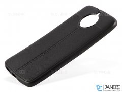 قاب ژله ای طرح چرم موتورولا Auto Focus Jelly Case Motorola Moto G5S Plus