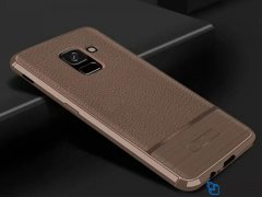 قاب ژله ای طرح چرم سامسونگ Becation Ruged Armor Case Samsung Galaxy A6 2018