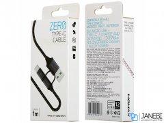 کابل شارژ دو سر مومکس Momax Zero 2 in 1 Type-C /Micro-USB Cable 1m