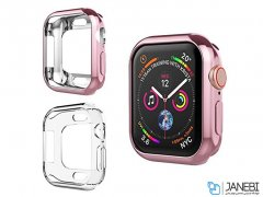 قاب محافظ براق اپل واچ Coteetci TPU Plating Case Apple Watch 44mm