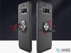 قاب ژله ای حلقه دار سامسونگ Becation Finger Ring Case Samsung Galaxy S8 Plus