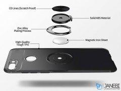 قاب ژله ای حلقه دار هواوی Becation Finger Ring Case Huawei Y9 2018