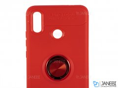 قاب ژله ای حلقه دار شیائومی Becation Finger Ring Case Xiaomi Mi A2/ Mi 6X