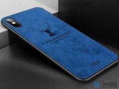 قاب محافظ طرح گوزن iPhone X/XS