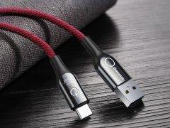 کابل شارژ هوشمند بیسوس Baseus C-shaped light intelligent Type-C cable