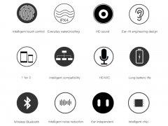 هندزفری بلوتوث بیسوس Baseus Encok W02 TWS Bluetooth Earphone