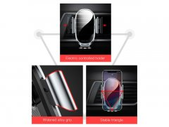 پایه نگهدارنده هوشمند گوشی بیسوس Baseus Smart Car Mount Holder