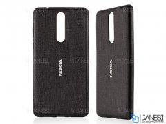 قاب محافظ طرح پارچه ای نوکیا Protective Cover Nokia 6.1 Plus /Nokia X6