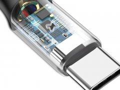 کابل تایپ سی هوشمند بیسوس Baseus X-shaped Light Type-C Cable 1m
