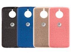قاب محافظ طرح پارچه ای موتورولا Protective Cover Motorola Moto E4 Plus