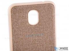 قاب محافظ طرح پارچه ای سامسونگ Protective Cover Samsung Galaxy J3 2018