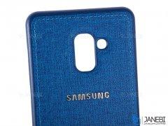 قاب محافظ طرح پارچه ای سامسونگ Protective Cover Samsung Galaxy J6 Plus