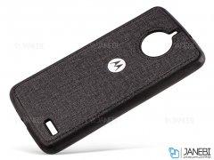 قاب محافظ طرح پارچه ای موتورولا Protective Cover Motorola Moto E4