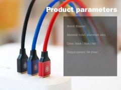 کابل شارژ سریع و انتقال داده بیسوس Baseus Yiven Type-C Cable 1.2m 3A