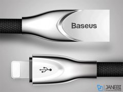 کابل شارژ و انتقال داده لایتنینگ بیسوس Baseus Zinc Alloy Lightning Cable