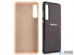 قاب محافظ طرح پارچه ای سامسونگ Protective Cover Samsung Galaxy A7 2018