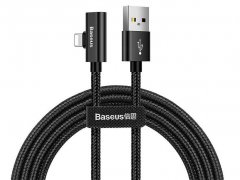 کابل صدا و شارژ لایتنینگ بیسوس Baseus Entertaining Audio Data Cable