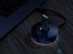 هاب یو اس بی بیسوس Baseus Round Box Hub Type-C Adapter