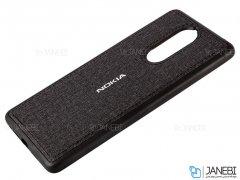 قاب محافظ طرح پارچه ای نوکیا Protective Cover Nokia 6 2018