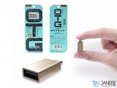 مبدل تایپ سی به یو اس بی ریمکس Remax RA-OTG1 Type-C To USB OTG Adapter