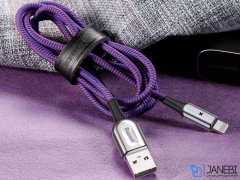 کابل لایتنینگ هوشمند بیسوس Baseus X-shaped Lightning Cable 50cm
